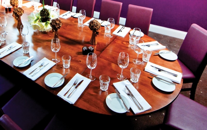 Private Dining Room at The Oak Tree
