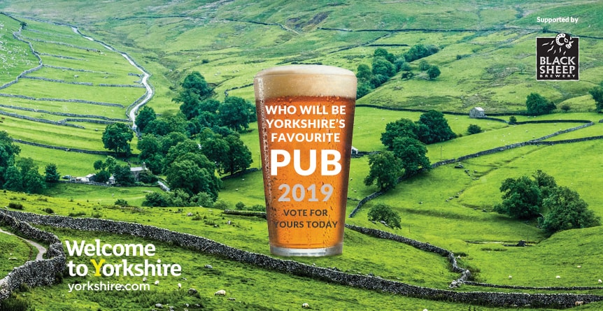 Yorkshire's Favourite Pub 2019 - Vote for The Oak Tree Inn